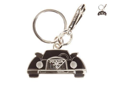 Prada Old Fashioned Car Key Chain | ACCESSORIES