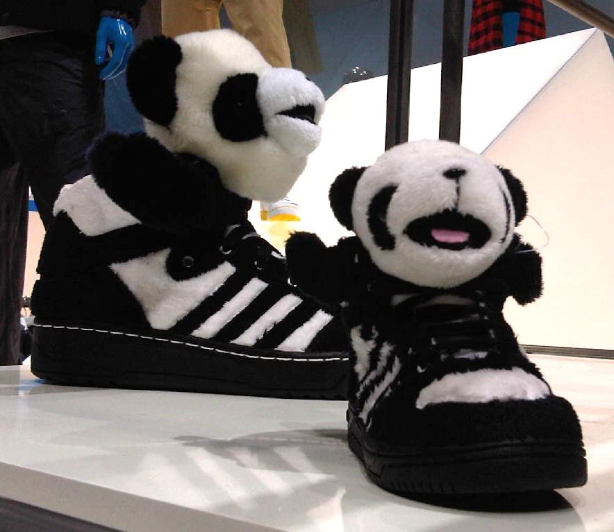 Adidas Jeremy Scott Panda